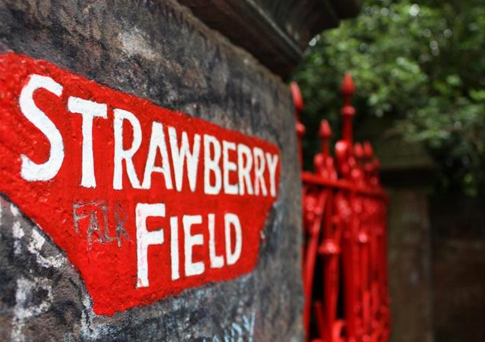 Beatles Strawberry Fields Gates