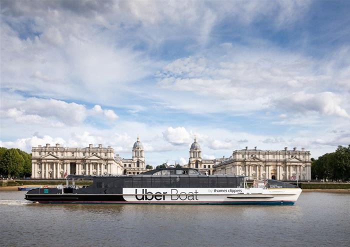 Uber Boat by Thames Clippers