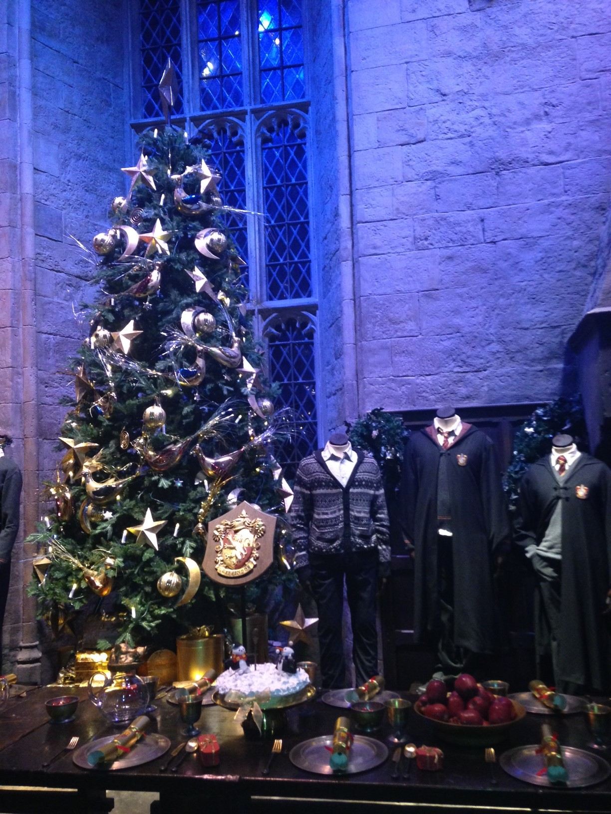 It S A Magical Christmas At Hogwarts