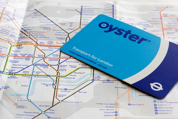 http://www.dreamstime.com/stock-photography-oyster-card-tube-map-image28539692