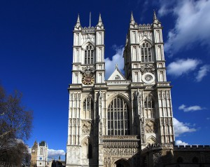 Westminster Abbey front view