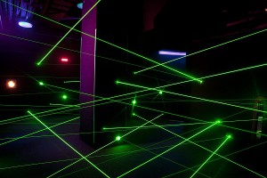Laser race at Ripley's