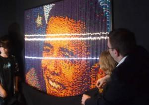 Obama art at Ripley's