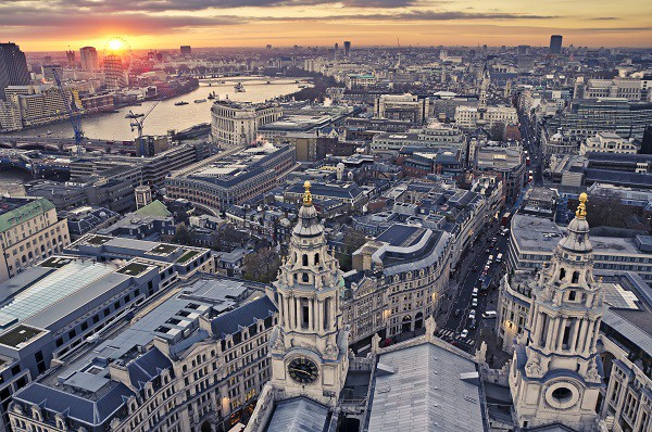 Sunset - St Paul's Cathedral