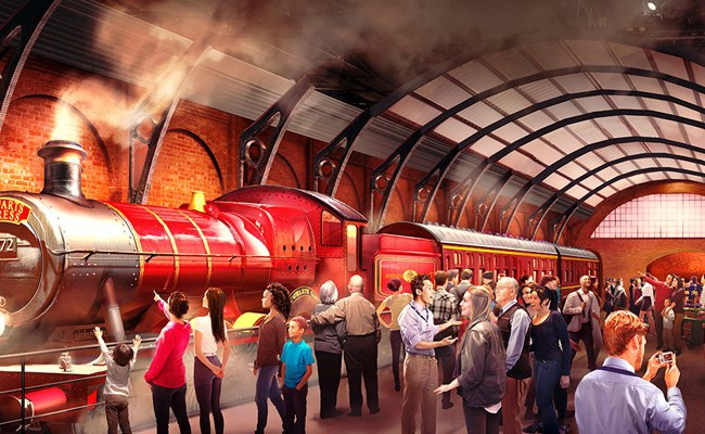 Take A Trip With The Hogwarts Express at Warner Bros. Studio Tour London