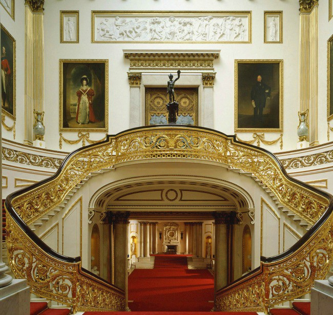 The Interior of Buckingham Palace