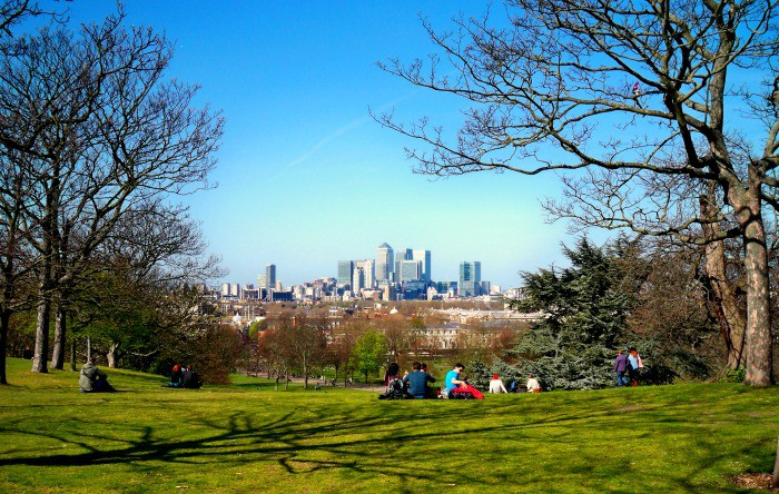 Visit Greenwich Park on the way to Cutty Sark