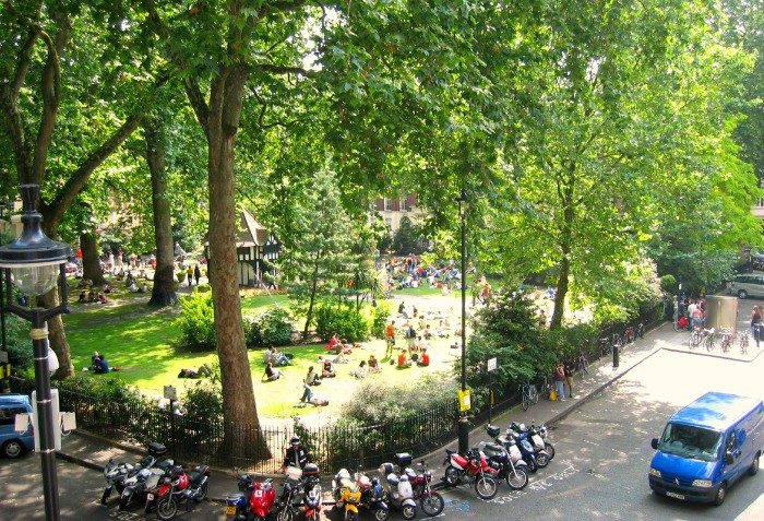 A short walk from Oxford Street - Soho Square