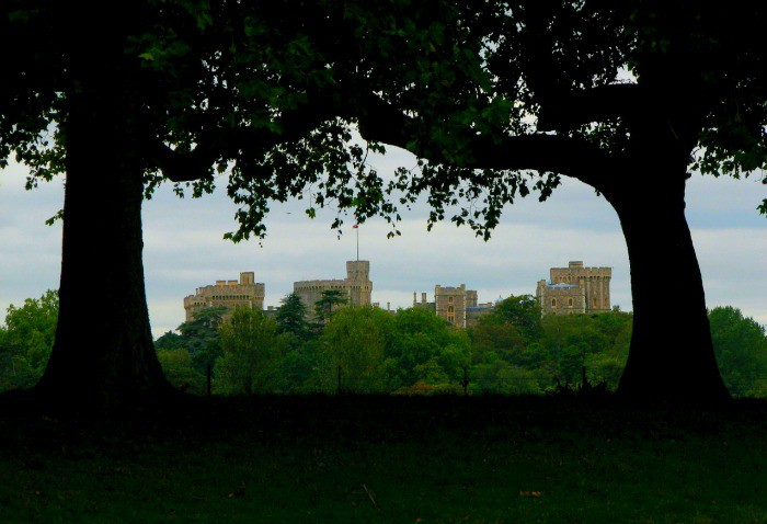 A Spooky View of Windsor Castle