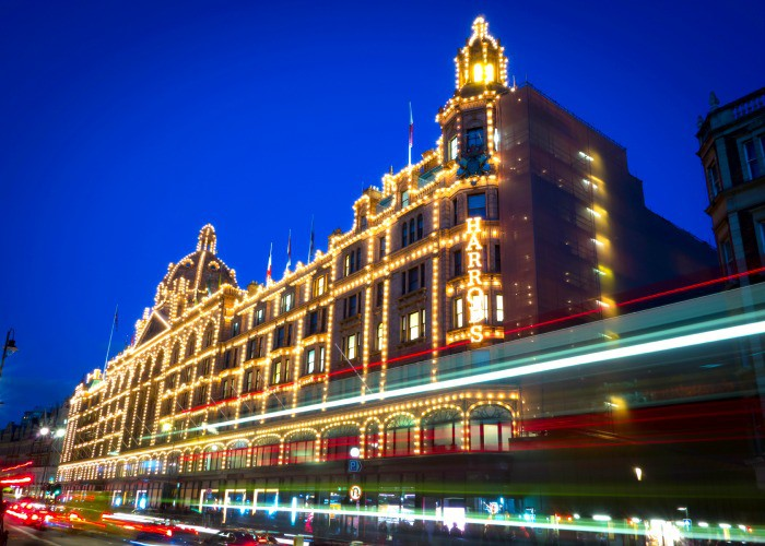 The luxurious Harrods