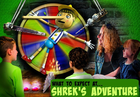 What to Expect at… Shrek's Adventure