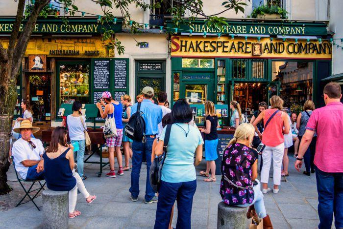 Shakespeare and Company on Paris' Leftbank