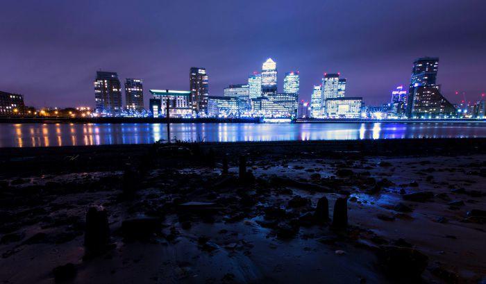 London By Night - Canary Wharf