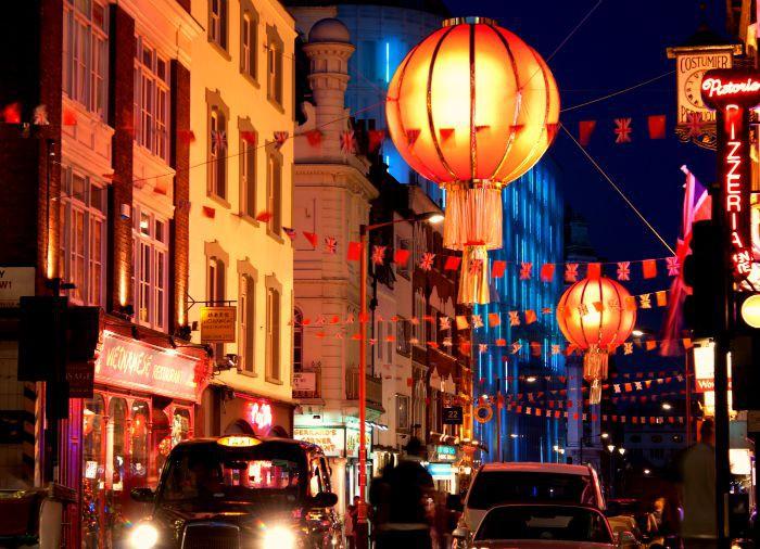London By Night - Chinatown