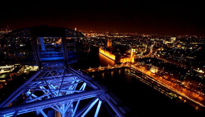 London By Night - London Eye