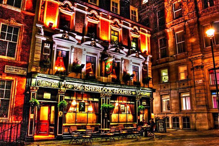 The Glowing Sights of London By Night