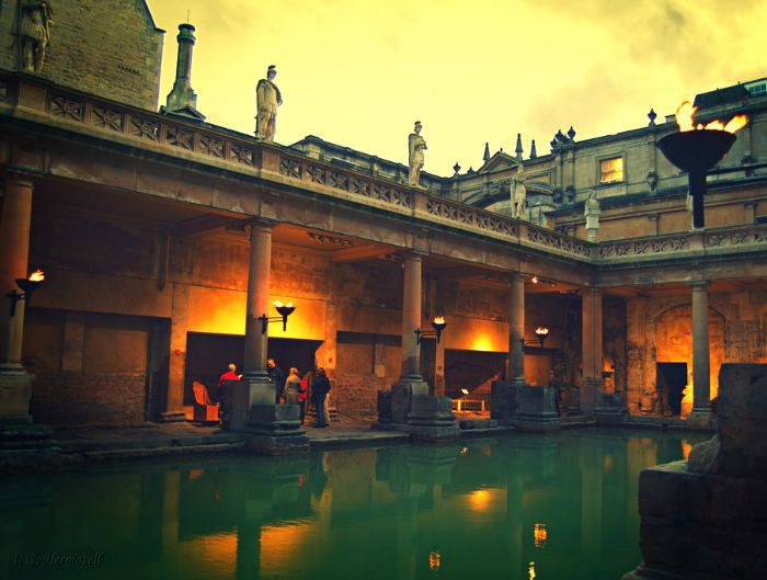 Bath is full of history and gorgeous architecture