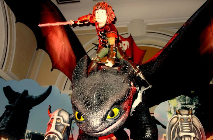 How to Train Your Dragon at Shrek's Adventure