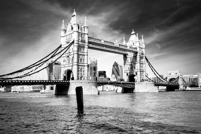 Tower Bridge is a 20 minute walk from St Paul's