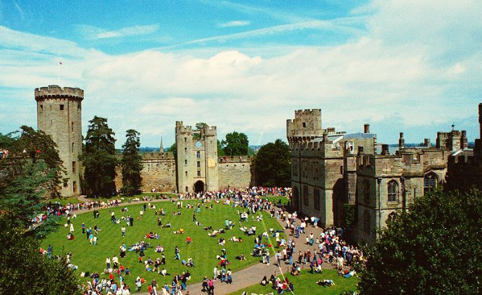 Warwick Castle is an interactive and fun day out