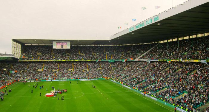 Scotland's largest stadium, Celtic Park