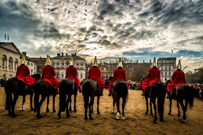 Horseguards Parade in Autumn