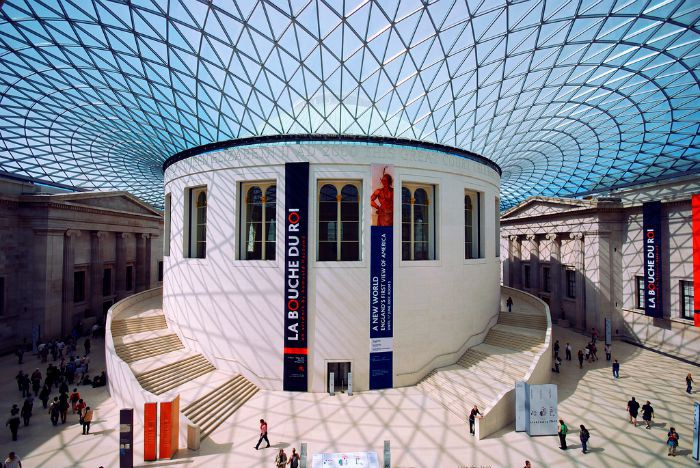 Don't confuse the British Museum with the Museum of London