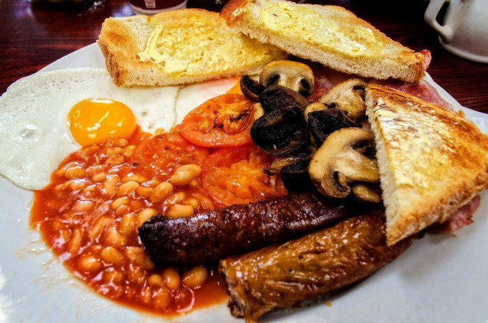 A full English is a big meal!