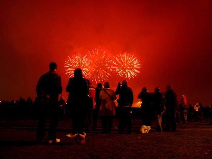 Blackheath is a wonderful place to watch fireworks