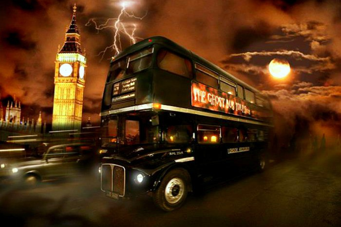 Terrifying tour of London