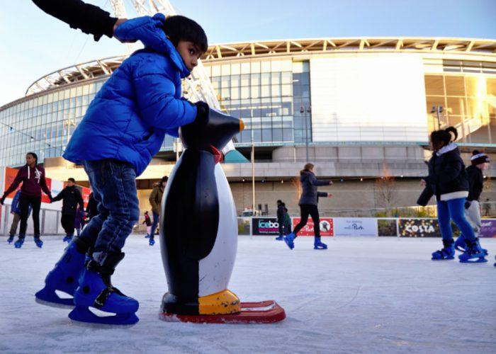 Ice Skating at Wembley