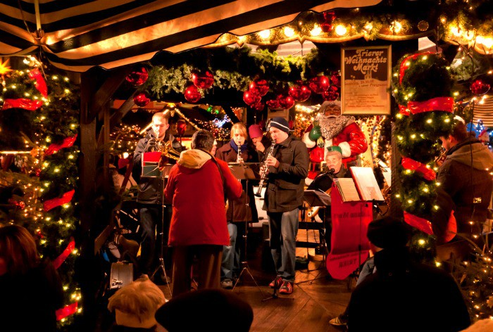 Carol singers and musicians at Christmas Markets