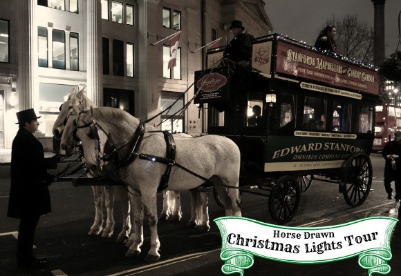 A Taste of Victorian London: See the Christmas Lights on a Special Horse-Drawn Tour