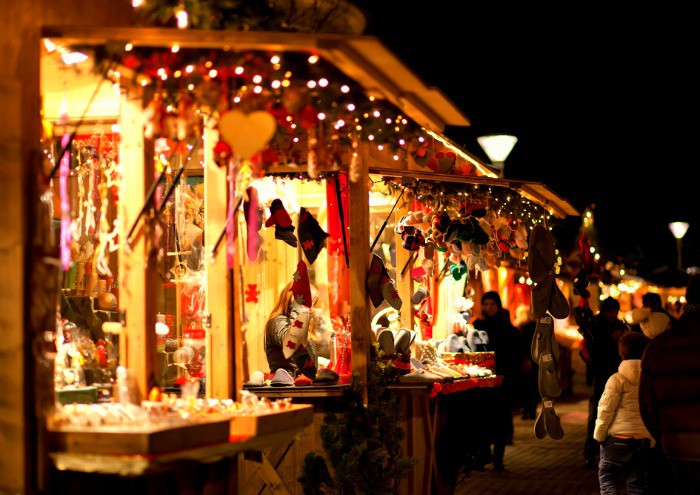 Independent craft stalls at Christmas Markets