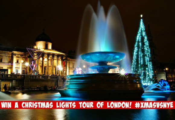 #XmasVsNYE Win a Christmas Lights Tour of London!