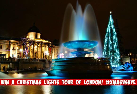 #XmasVsNYE Win a Christmas Lights Tour of London!