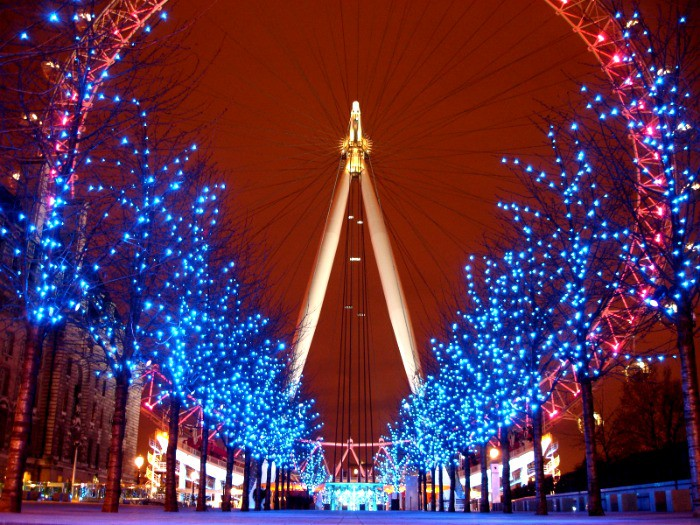 Top christmas attractions in london for Time square londra