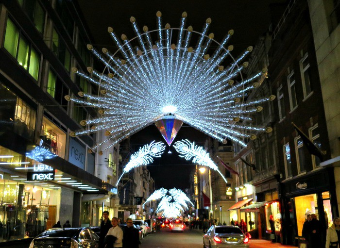 the christmas lights of london