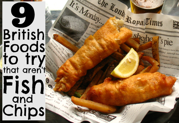 9 British Foods You Have to Try (That Aren't Fish and Chips)