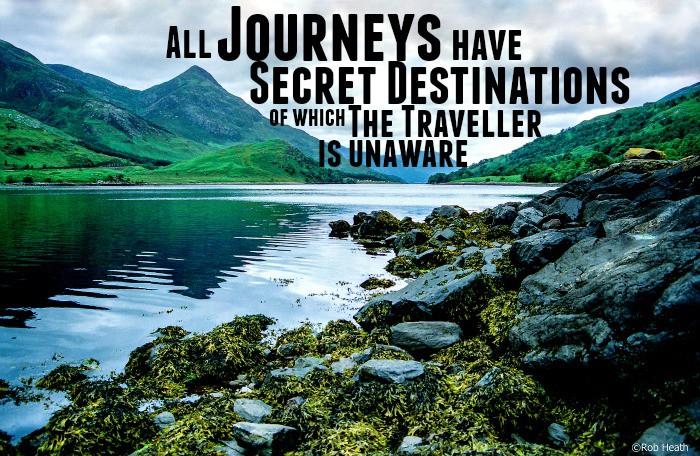 All journeys have secret destinations