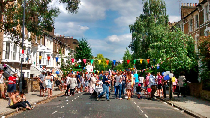A Traditional British Street Party