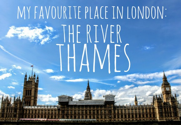 My Favourite Place in London: The Thames by Joanna