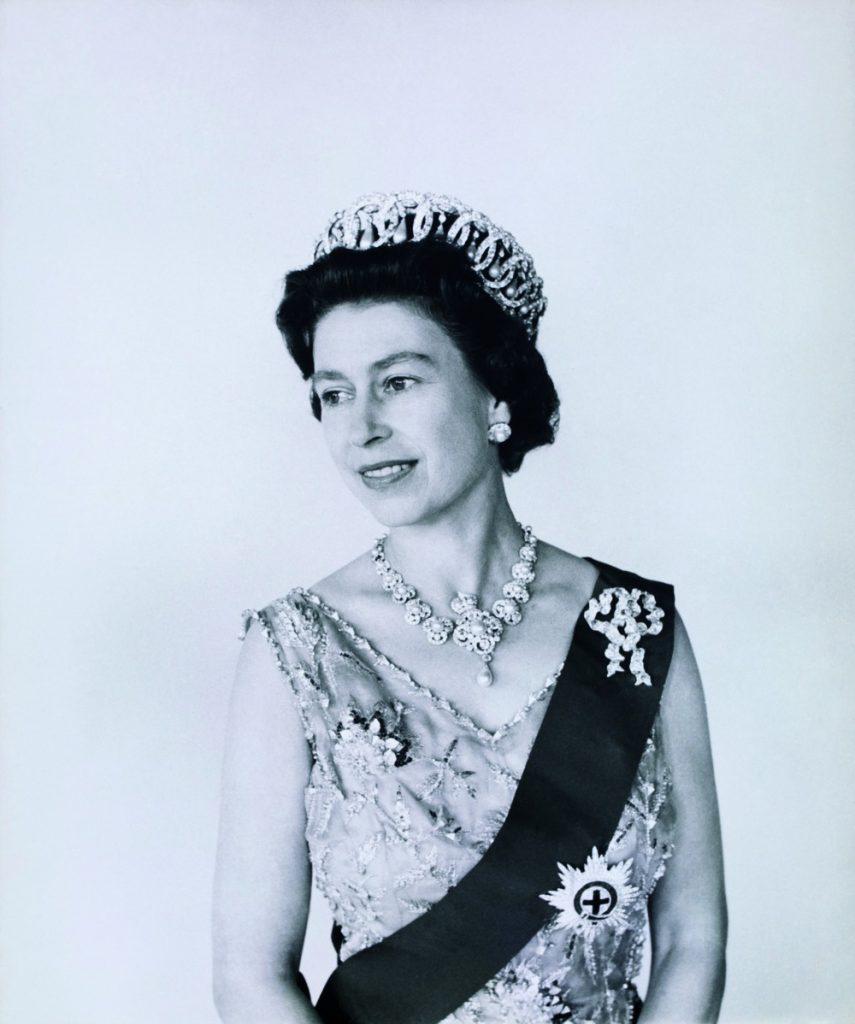 Queen Elizabeth II, photo Cecil Beaton. UK, 1968