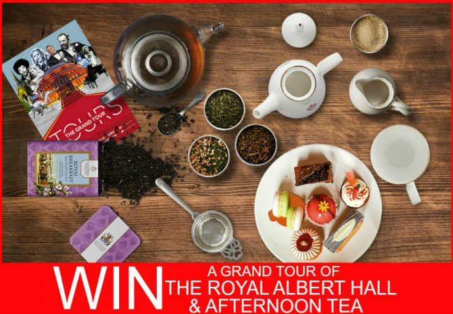 WIN a Grand Tour of Royal Albert Hall and Afternoon Tea