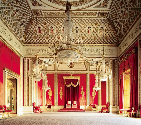 The Throne Room - Derry Morre - Royal Collection Trust / © Her Majesty Queen Elizabeth II 2016