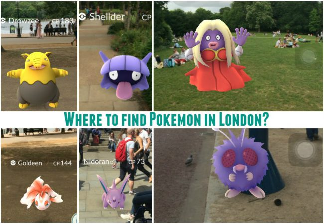 Which London Attraction Do Pokémon Love the Most?