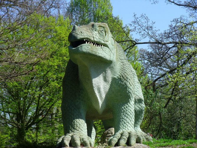 The Dinosaurs in Crystal Palace