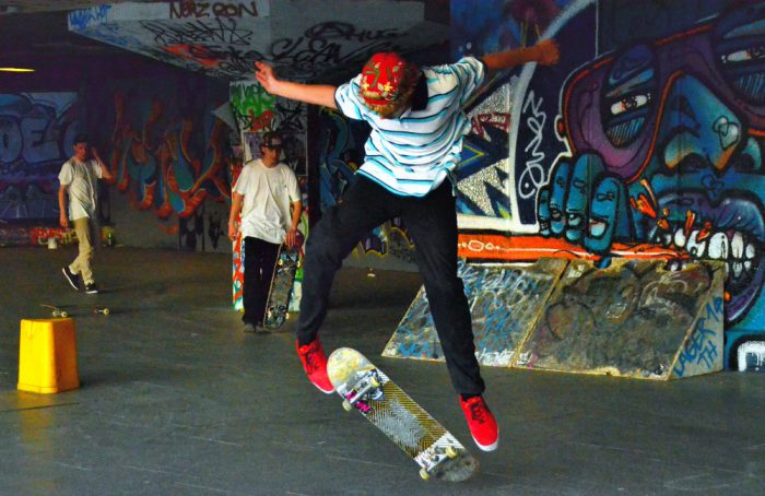 Watch some awesome skating at Southbank