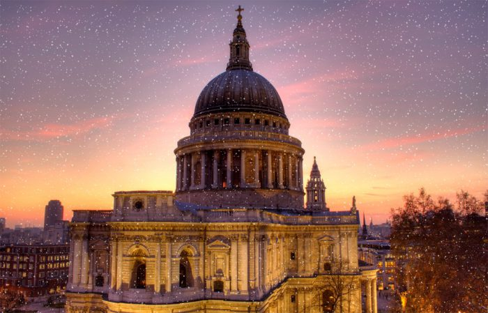 Stunning St Paul's in the Winter