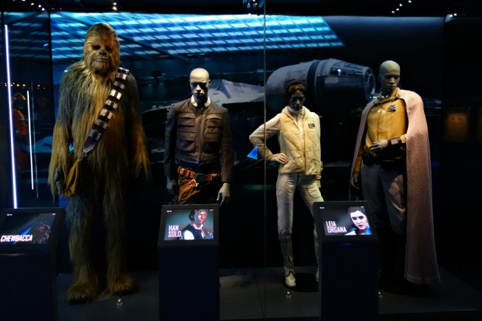 Star Wars characters and costumes